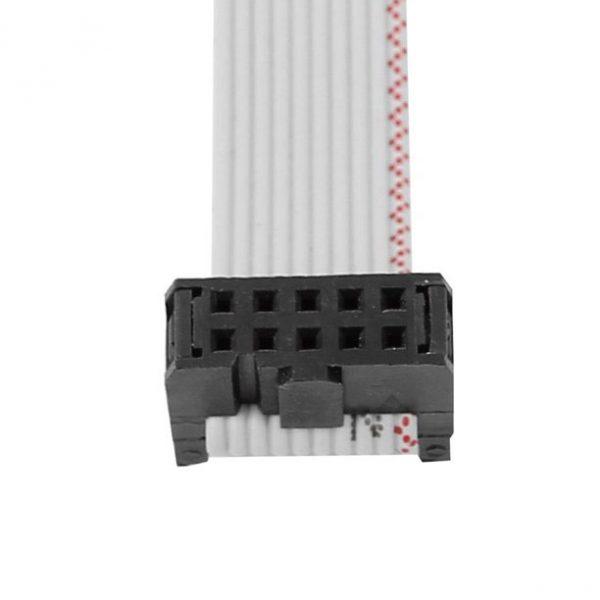 lunghezza 30 cm Cavo Piatto Flat Cable 3M 10 poli con 2 connettori femmina